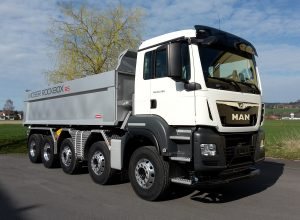 MAN TGS 50.500 10×4 6 BB mit Moser Rockbox RS
